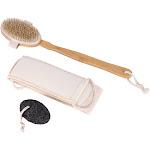 DEYIOU Dry Brush Set To Improve Skin Care Skin Exfoliation On The Back On The Feet