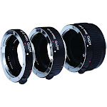 Movo Photo AF Macro Extension Tube Set for Canon Eos DSLR Camera with 12mm, 20mm & 36mm Tubes (metal Mount)
