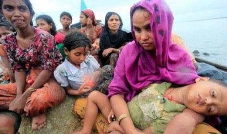 Bangladesh Larang Bantuan untuk Rohingya