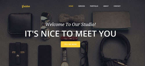 20 Free High Quality Flat HTML Website Templates