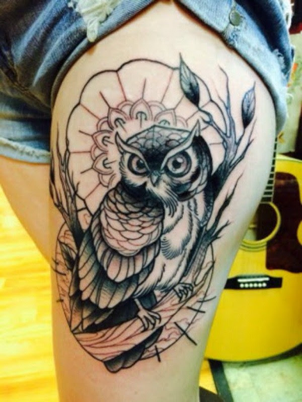 35 Attractive Owl Tattoo Ideas Page 33 Foliver Blog