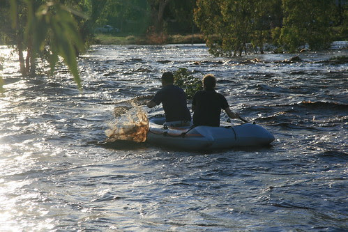 Todd River rafters
