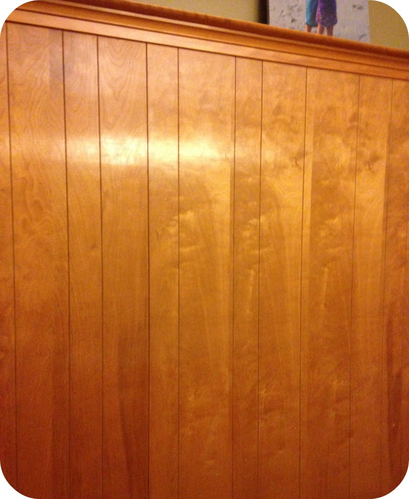 Diy Home Repair Hack Easily Paint Over Wood Paneling