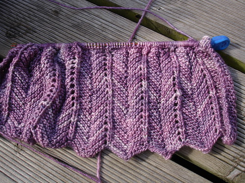 Katerina shawl (1) WIP