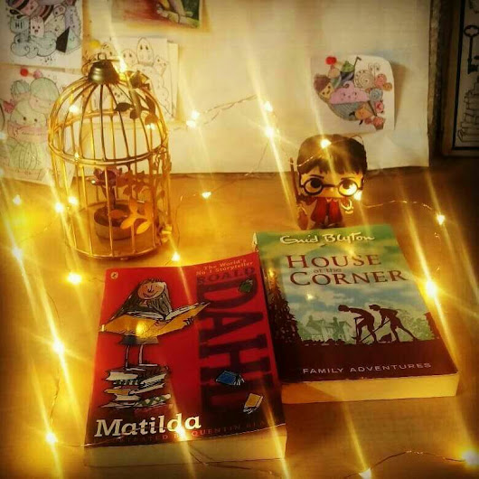 My tryst with books ❤
