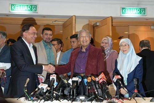Mahathir, Anwar sila kembali berunding