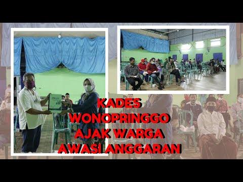 Kades Wonopringgo Ajak Warga Awasi Anggaran