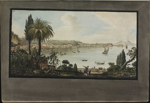 Plate 3, view of Naples from Pausilipo