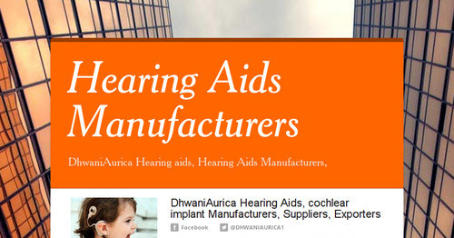 Hearing Aids Manufacturers