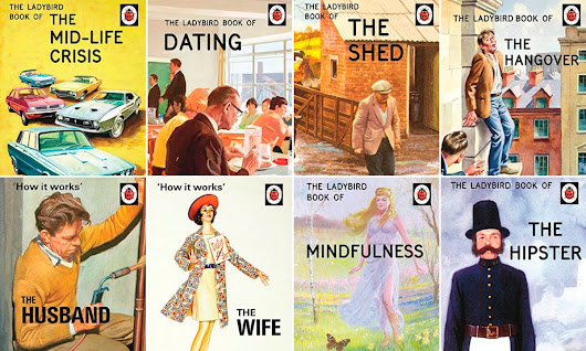 Ladybird books introduce Peter and Jane to hipsters and hangovers