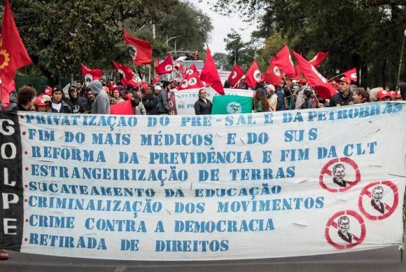 Protestos Contra O Governo Temer Ocorrem Em Diversos Estados Do País