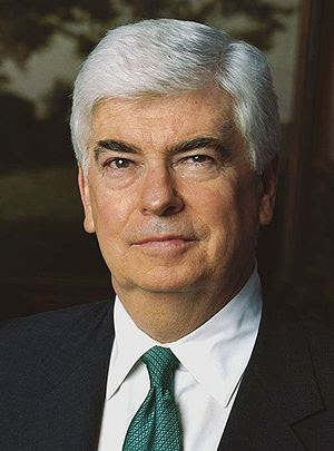 Christopher Dodd, U.S. Senator from Connecticut.