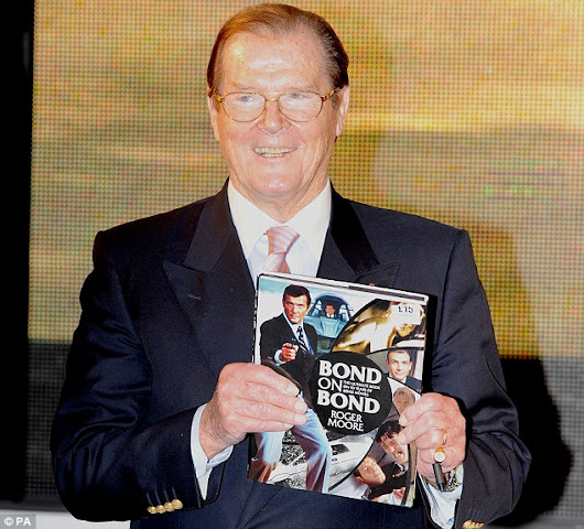 Roger Moore (1927-2017), Actor and Surprisingly Busy Author