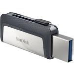 Sandisk 64gb Ultra Dual Usb 3.1/usb Type C Flash Drive - 64 Gb - Usb Type C,