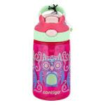 Contigo Autospout Straw Gizmo Flip Kids Water Bottle, 14 oz, Sprinkles with Owl