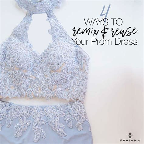 Top 4 Ways to Remix and Reuse Your Prom Dress   Glam