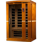 Dynamic Vittoria 2-Person Low EMF Far Infrared Sauna DYN-6220-01