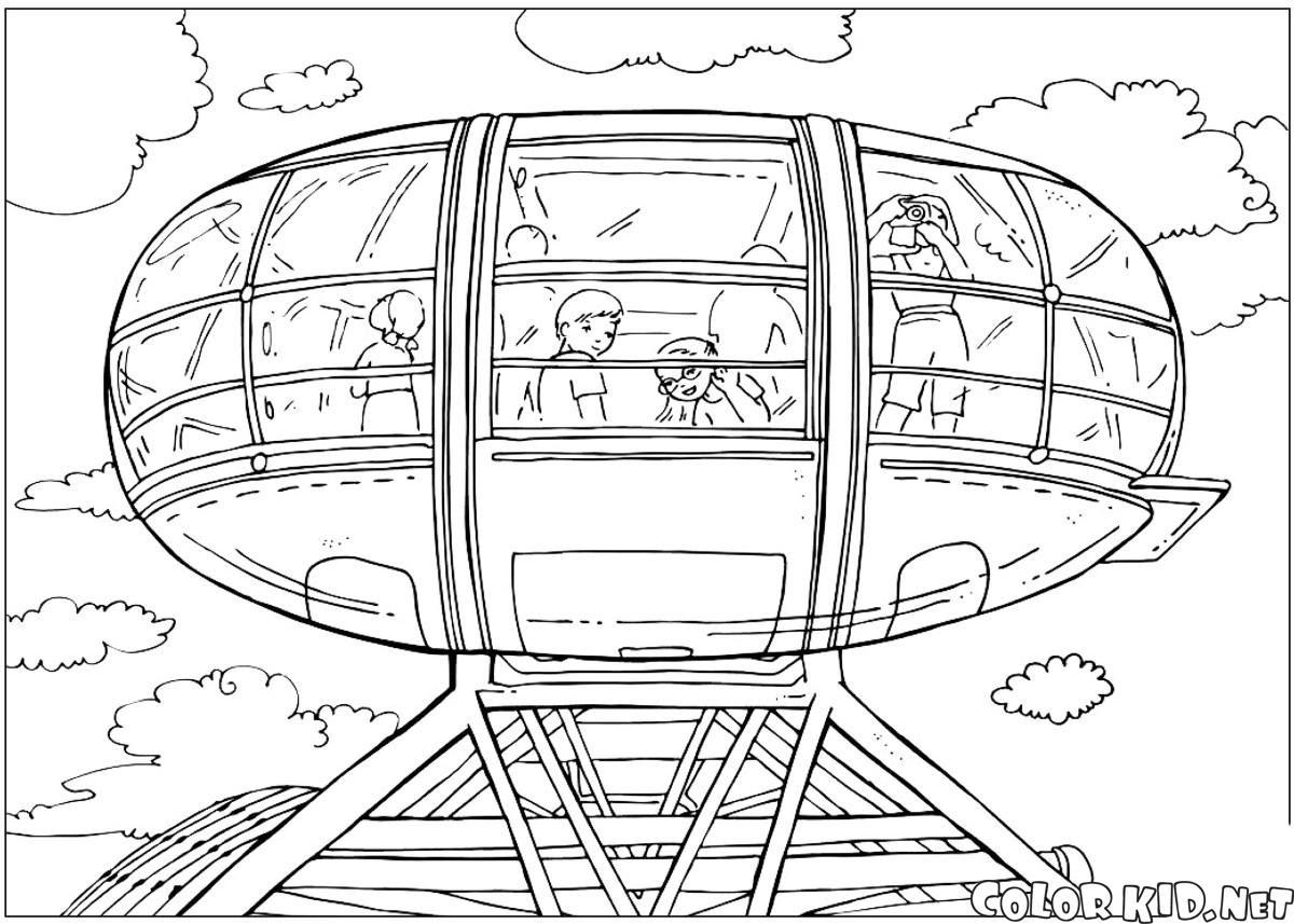 Boyama Sayfası London Eye