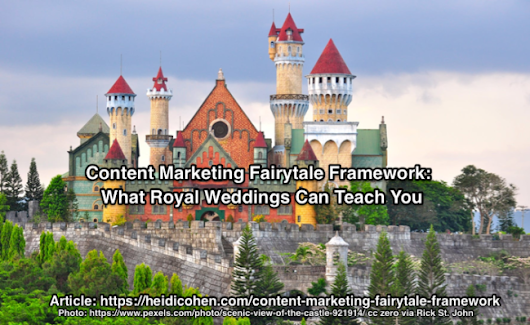 Content Marketing Fairytale Framework: What Royal Weddings Can Teach You - Heidi Cohen