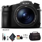 Sony Cyber-shot DSC-RX10 III Camera DSCRX10M3/B With Soft Bag, 64GB Memory Card, Card Reader , Plus Essential Accessories