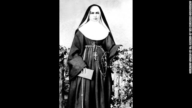 """In 1883 Mother Marianne Cope and five other sisters volunteered to travel to Hawaii to work with people afflicted with Hansen's disease. The disease, then known as leprosy, was so feared they were the only religious congregation to respond to a request for help. Mother Marianne wrote """"I am not afraid of any disease."""" To this day none of the sisters has gotten sick."""