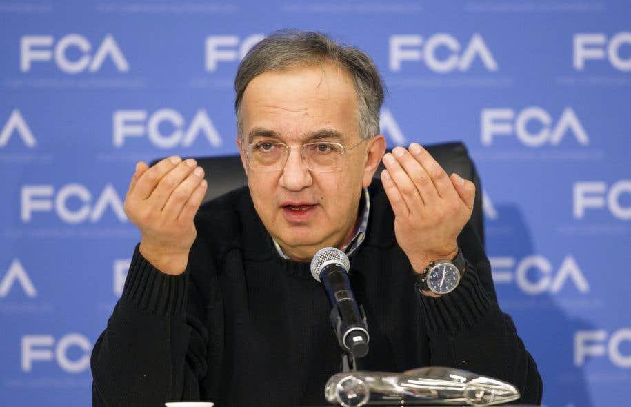Le p.-d.g. de Fiat Chrysler, Sergio Marchionne