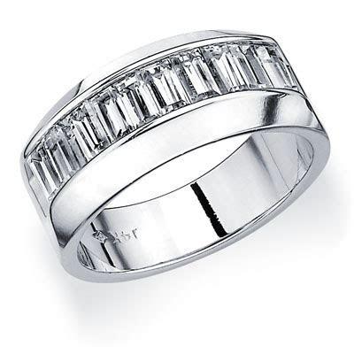 Mens Platinum Diamond Wedding Bands   Mens Platinum