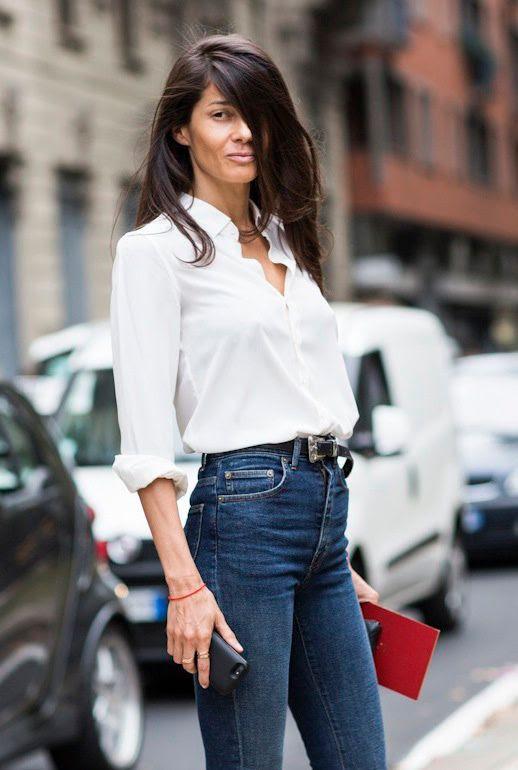Le Fashion Blog 2 Ways White Button Down Shirt High Waisted Jeans Milan-Street Style Barbara Martelo Via A Love Is Blind photo Le-Fashion-Blog-2-Ways-White-Button-Down-Shirt-High-Waisted-Jeans-Milan-Street-Style-Barbara-Martelo-Via-A-Love-Is-Blind.jpg