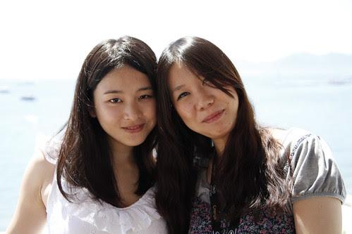 Moon Lai (Fooi Mun) with Yuiko