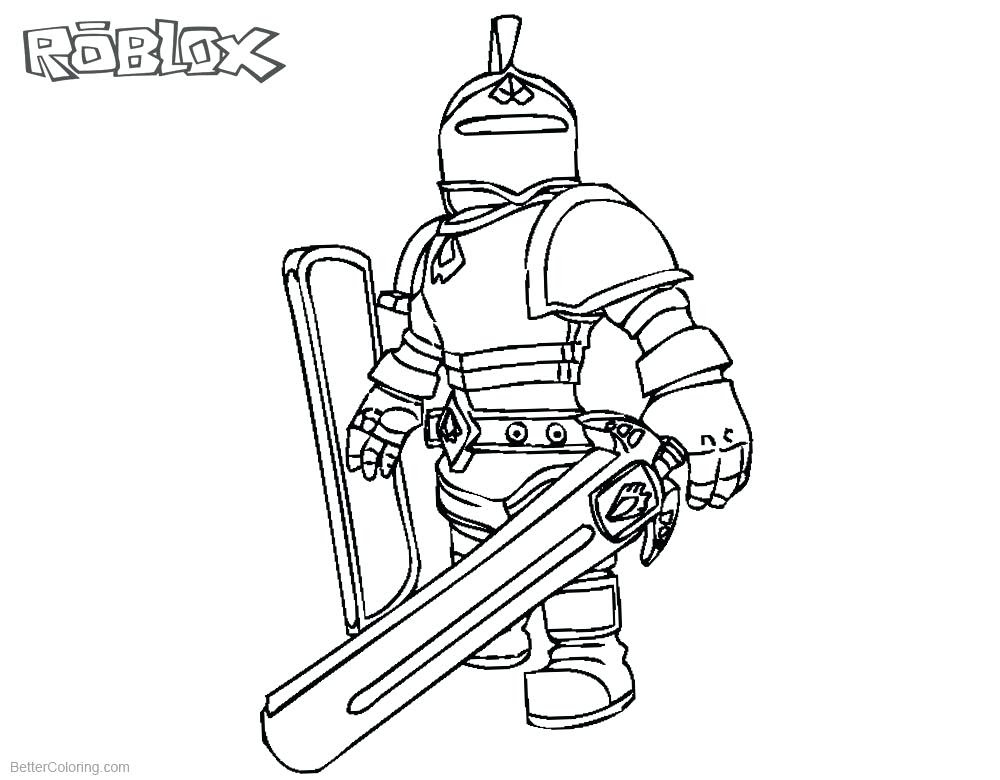 - Roblox Coloring Pages For Kids