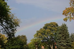 Faint October Rainbow