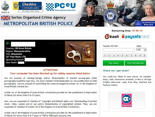 Remove Serios Organised Crime Agency Android Phone Virus