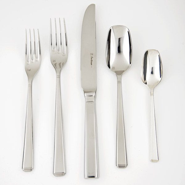 Fortessa Scalini Stainless Steel Flatware, Silverware
