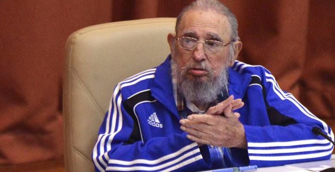 Fidel Castro en la clausura del séptimo congreso general del Partido Comunista de Cuba. - REUTERS