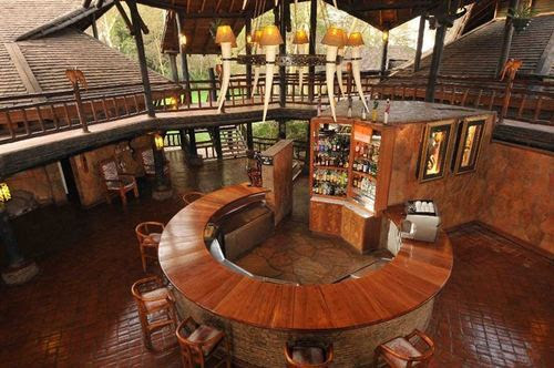 Unbelievable Urban Amenities amidst African Wilderness at Ol Tukai Lodge