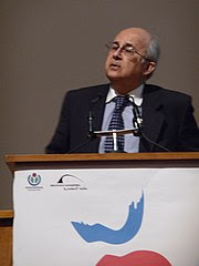 Wikimania 2008 - Closing Ceremony - Ismail Serageldin - 4.jpg