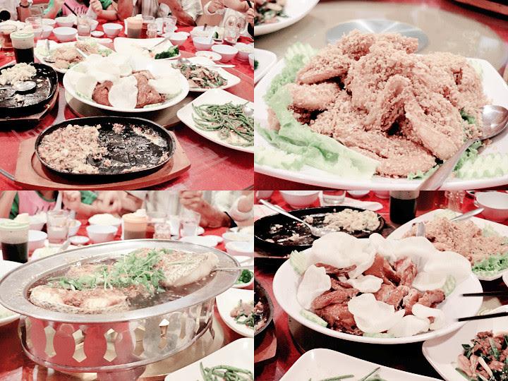 food at malacca restaurant