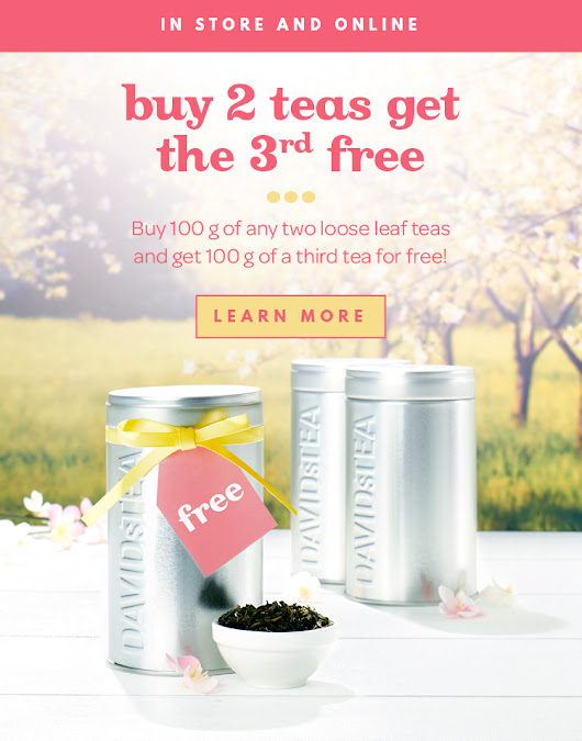 DAVIDsTEA - Buy Loose Leaf Tea Online