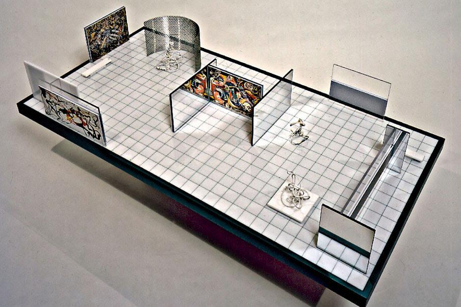 Pollock Blakes 1949 Museum Design Architecture Portfolio Issue