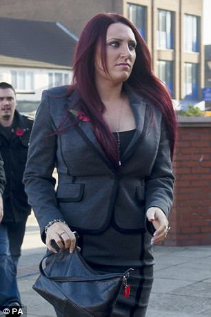 Deputy leader of Britain First, Jayda Fransen arrives at Luton Magistrates Court last year
