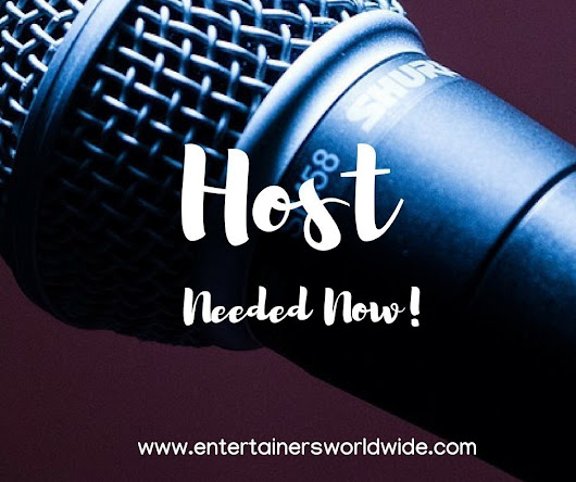 Entertainment Hosts Needed! Live Shows & Events Greece 1700-2000 € Per Month