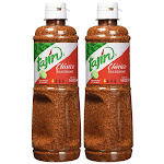 Mexilink Tajin Seasoning, Classic - 2, 14 oz bottles