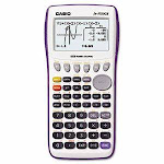 Casio 9750GII Graphing Calculator, 12-Digit LCD (CSOFX9750GIIWE)