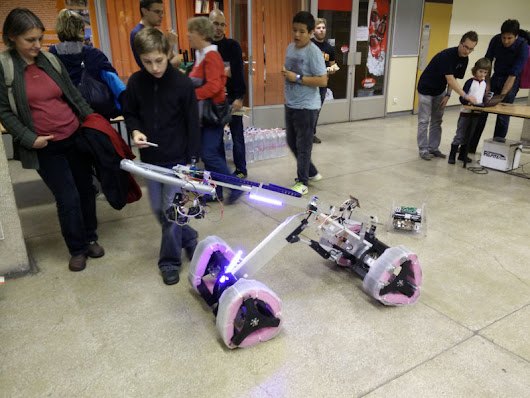 Rescube Robotics @ European Researchers' Night 2015 – Rescube Robotics