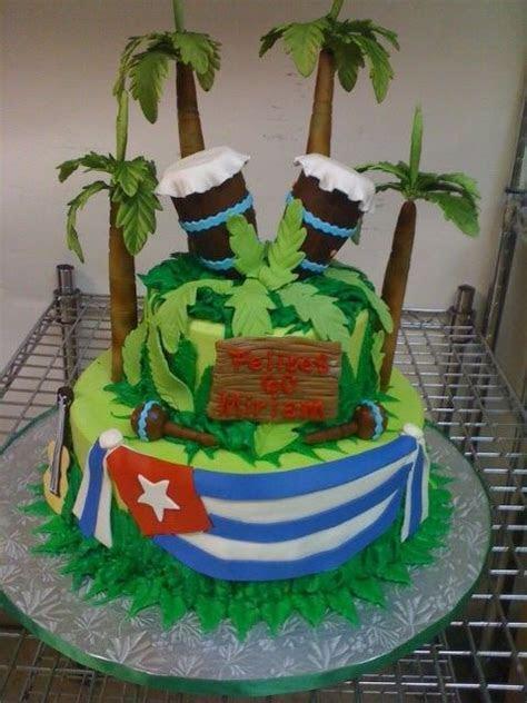 Cuban Bongos Birthday cake.   Birthday Cakes   Pinterest