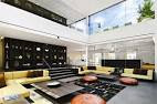 Modern Interior of Penthouse with Double Height Living Room ...