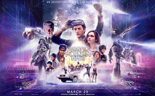 Ein Spektakel für Gamer & Filmfans - Kinoreview Ready Player One