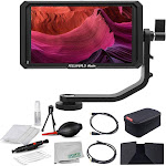 Feelworld Master MA5 5 inch Camera Field Monitor, with 4K HDMI 8V DC In/Out, Full HD 1920x1080 IPS Video Assist for DSLR Starters Bundle MA5STBUN