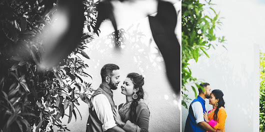 Pre Wedding Photography for Ashish & Rahel in Bangalore | Sree Vikash