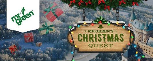 Mr Green 1 Million Christmas Quest - Amazing Daily Bonuses Up For Grabs